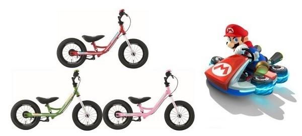 「マリオカート」とコラボレーション! 幼児向けトレーニング用バイク「KICKER AVANCE MARIOKART」