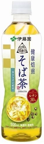 そばポリフェノール含有の健康茶飲料「伝承の健康茶 健康焙煎 そば茶」 伊藤園から