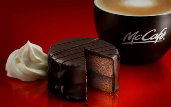 マックにことしも「ザッハトルテ」 コーヒーに合う贅沢チョコスイーツ