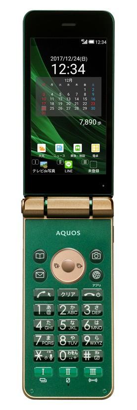ワンプッシュで電話が受けられる4G LTEケータイ「AQUOS K」 防水・防塵・耐衝撃性能も
