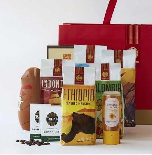 タリーズコーヒーの福袋「2018HAPPYBAG」 オンワードの限定トート付き