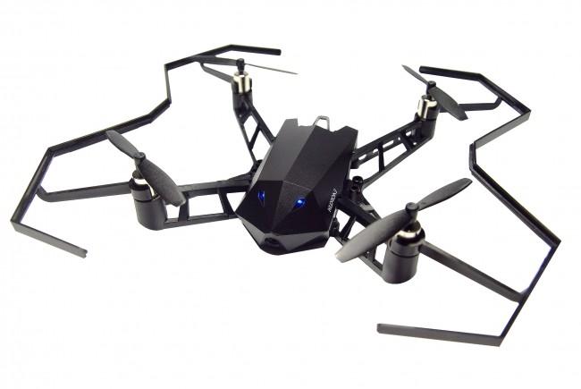 「ステルス戦闘機」がモチーフの小型ドローン 4K動画や800万画素静止画の撮影が可能