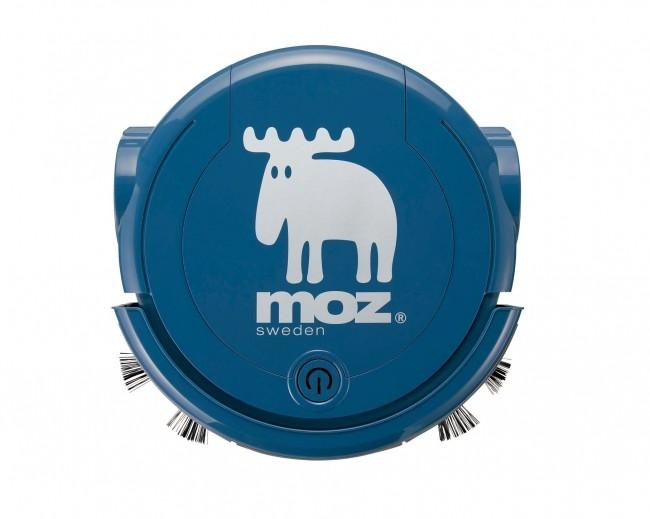 スウェーデンの雑貨ブランド「moz」デザインのロボット掃除機 蔦屋家電から