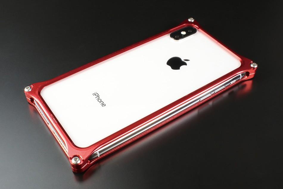 最高品質のジュラルミン無垢材から削り出したiPhone X向けバンパーケース
