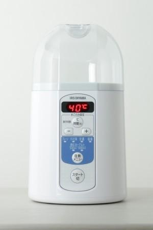飲むヨーグルトも作れる「ヨーグルトメーカー」 甘酒・塩麹もボタン1つ