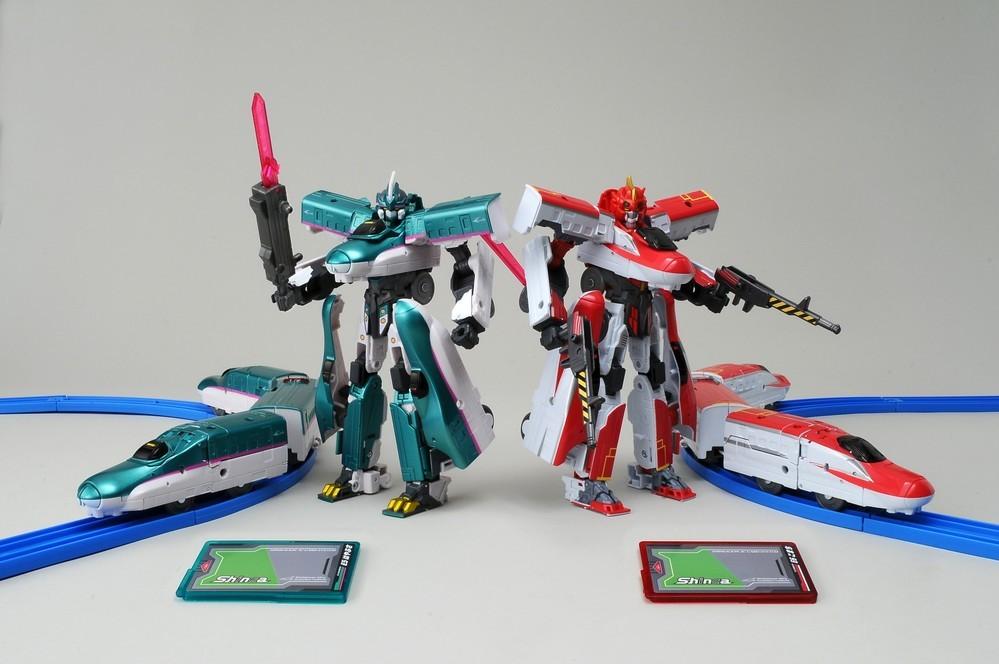 「新幹線変形ロボ シンカリオン」アニメ映像に近いプロポーションにリニューアル