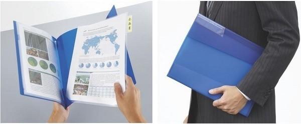 個人書類の整理・活用に便利な「クリヤーホルダーファイル<KaTaSu>」