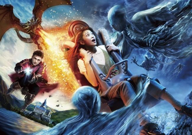 USJ「ハリーポッター」ライドが完全版に! もうゴーグルなしで魔法の世界へ行ける