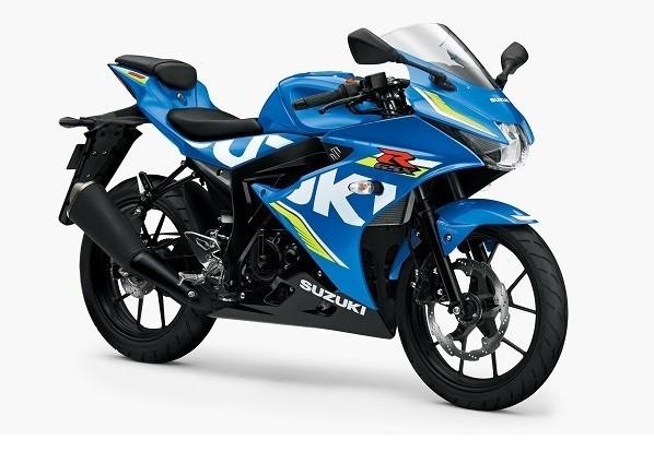 スズキ、軽量・高性能スーパースポーツバイク「GSX-R125 ABS」発売