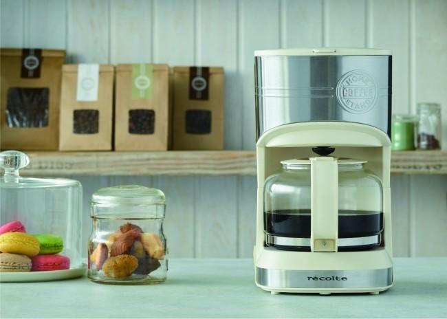 手軽に本格ドリップコーヒー コーヒーメーカー「Home Coffee Stand」