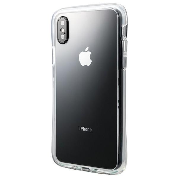 背面に傷がつきにくい強化ガラスのiPhone Plus向けクリアケース