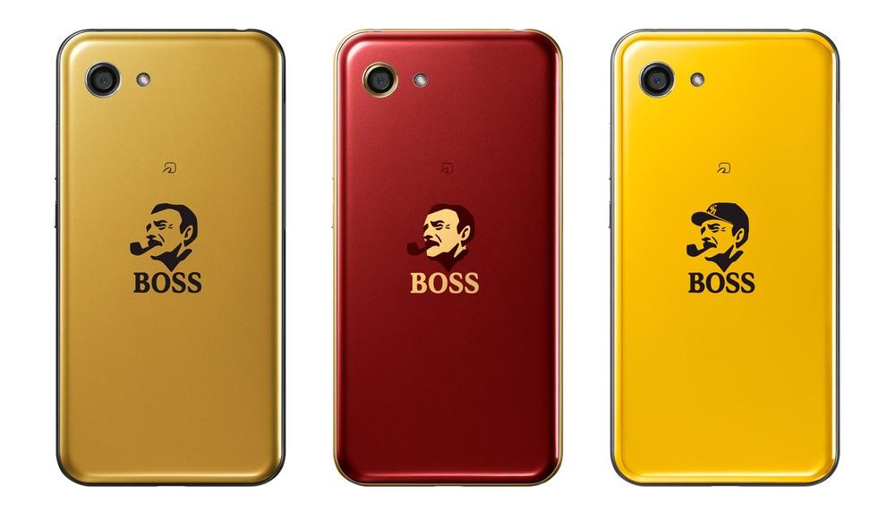 電子マネー100万円付き! 「BOSS」とソフトバンクがスマホプレゼント