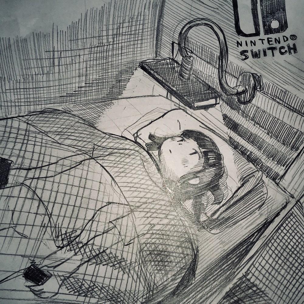 「寝たままニンテンドースイッチ」の甘い誘惑 「お母さんが見たらきっと将来を心配して泣く」