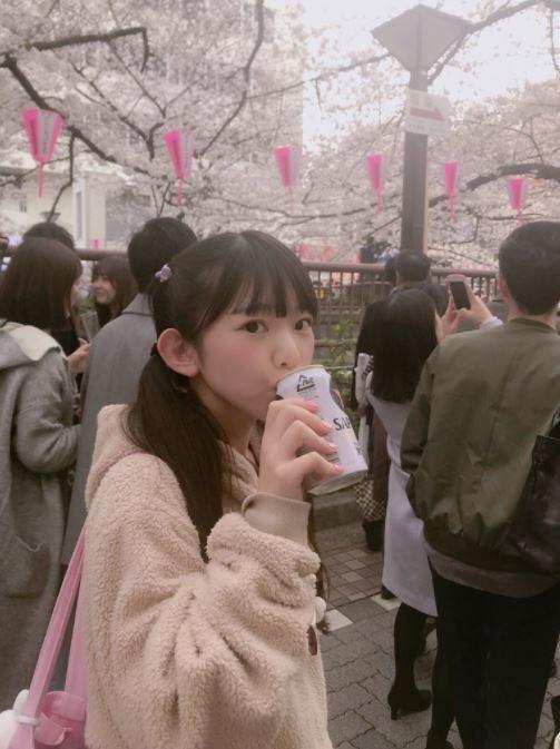 アイドル長澤茉里奈の飲酒写真に騒然 ツイッターに堂々公開して大丈夫か