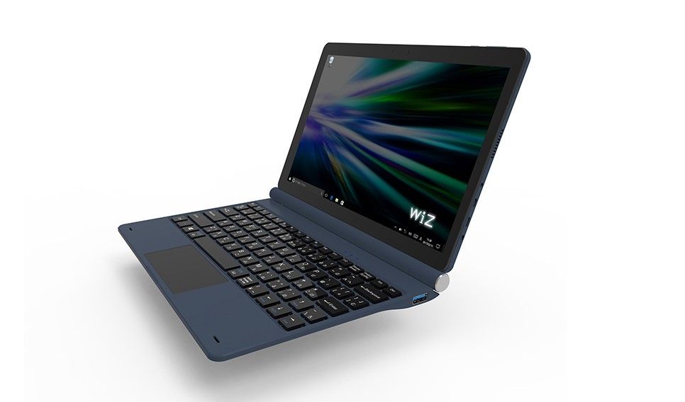 脱着式キーボード付属 ノートPCでも使えるWindowsタブレット
