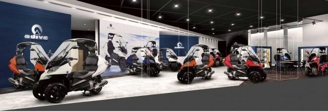 イタリアやフランスの最新スクーターを体感 ADIVA、日本初のショールーム