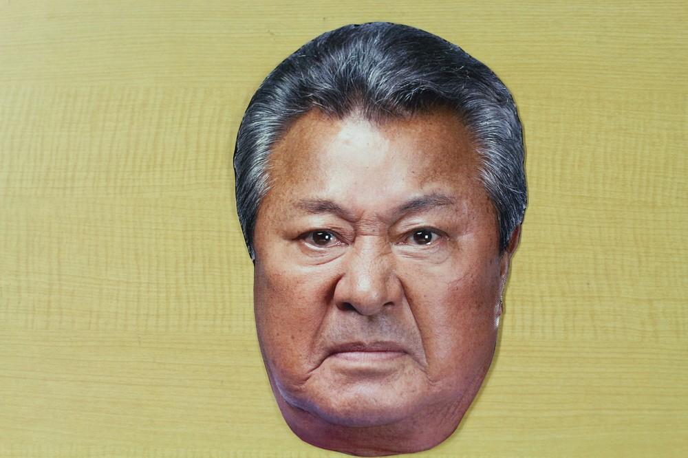梅宮辰夫、お面にされて「すごい顔」 買えるけどちょっと恥ずかしいワケ