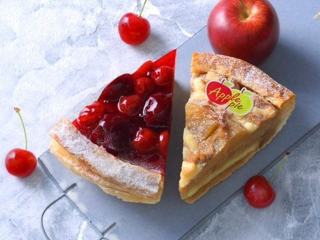 夏に食べたくなるスイーツ「アップルパイ」「チェリーパイ」