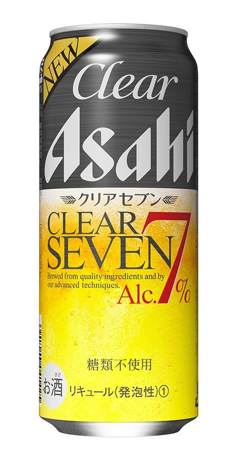 食事とも合い後味すっきり アルコール7%「クリアアサヒ クリアセブン」