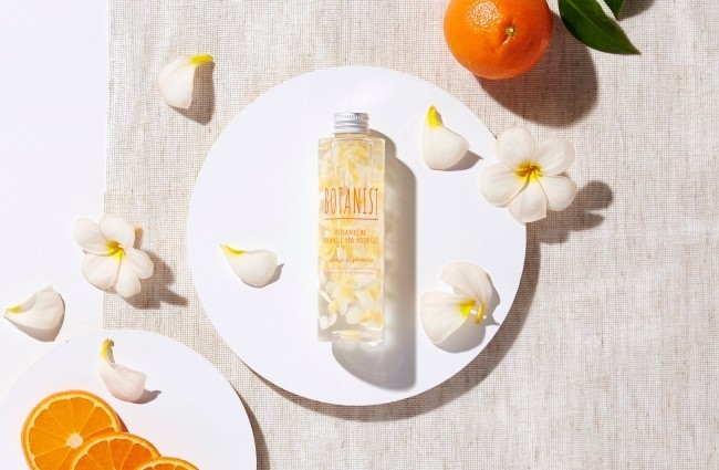 オレンジと南国の花「プルメリア」の香り ボディージェル