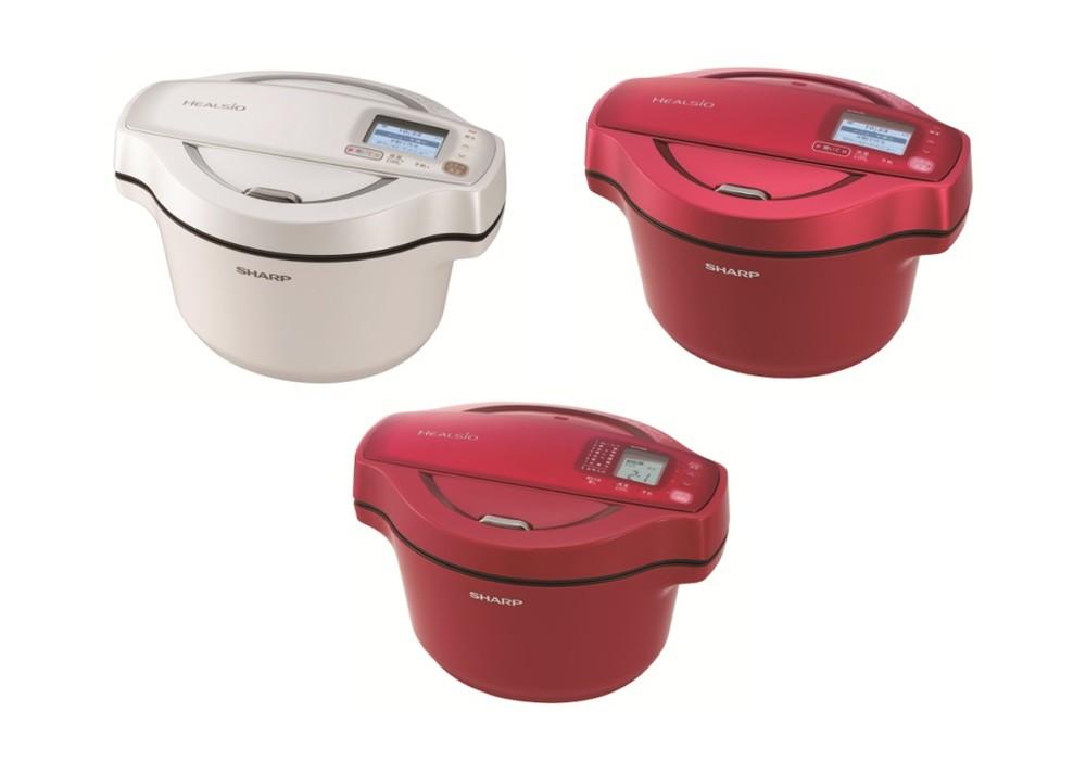 食材と調味料をセットするだけ 加熱状態を自動調整する無水調理鍋