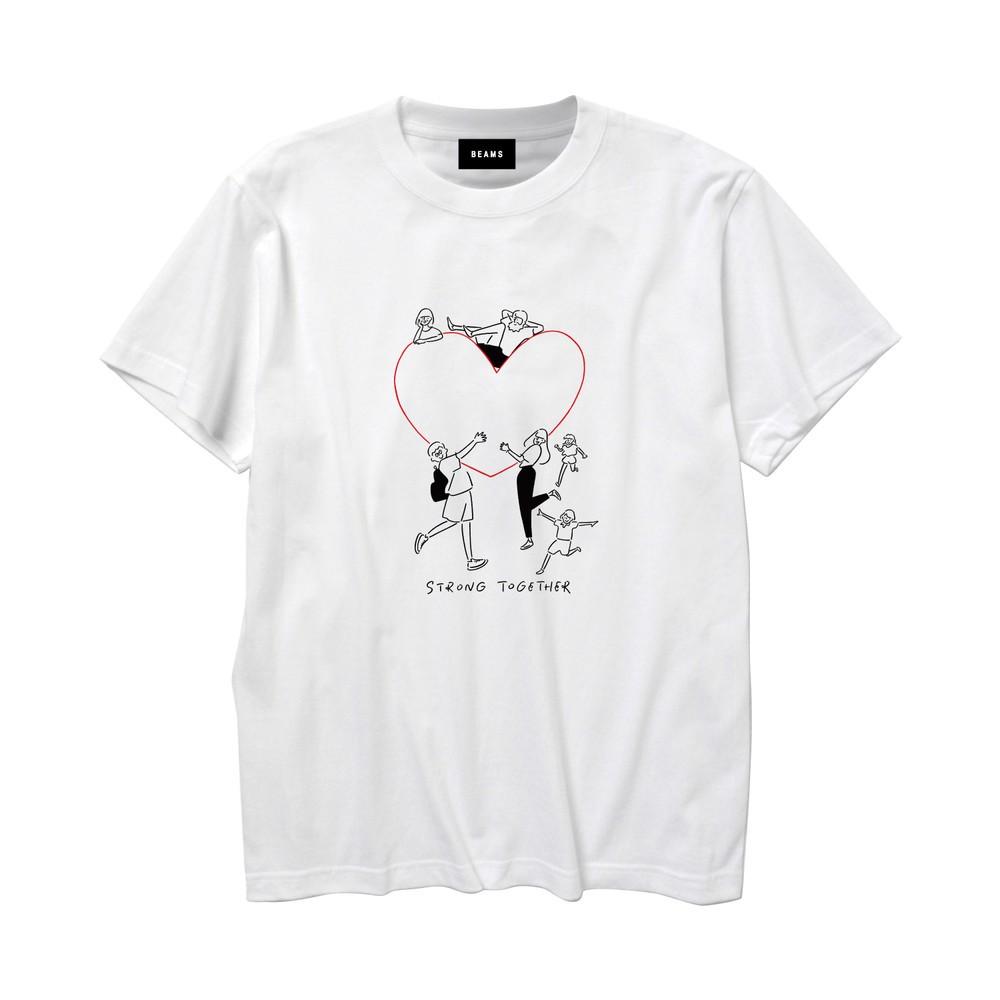 西日本豪雨被災地を支援 「Yu Nagaba×BEAMS チャリティーTシャツ」