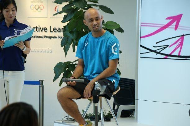 東京パラリンピックまであと2年 陸上・山本篤「金メダル」目指し意気込み
