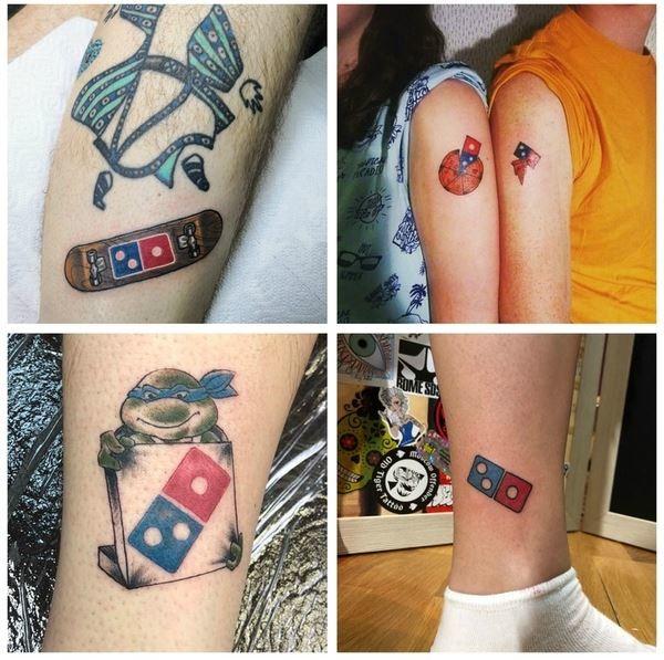 タトゥー入れたらピザ100年無料! ドミノ・ピザがロシアで仰天企画