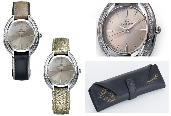 「HIROKO HAYASHI」と「グランドセイコー」 コラボ限定モデル腕時計