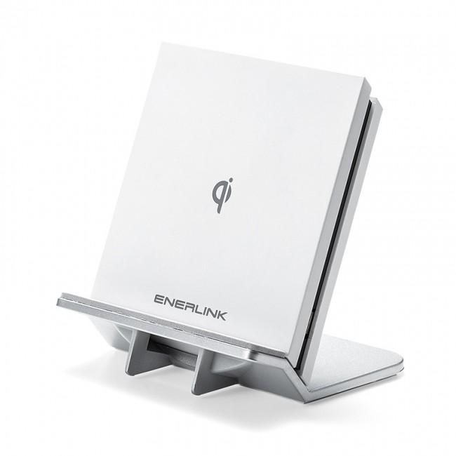 スタンドにもパッドにもなる 「Qi」規格準拠ワイヤレス充電器