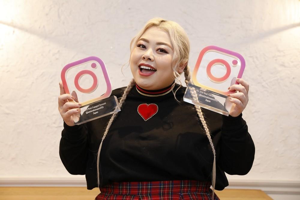 インスタグラム「今年最も輝いた著名人」 渡辺直美、今田美桜が受賞