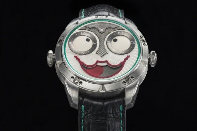 文字盤を見るたびに異なる表情を見せる ロシア時計「JOKER」