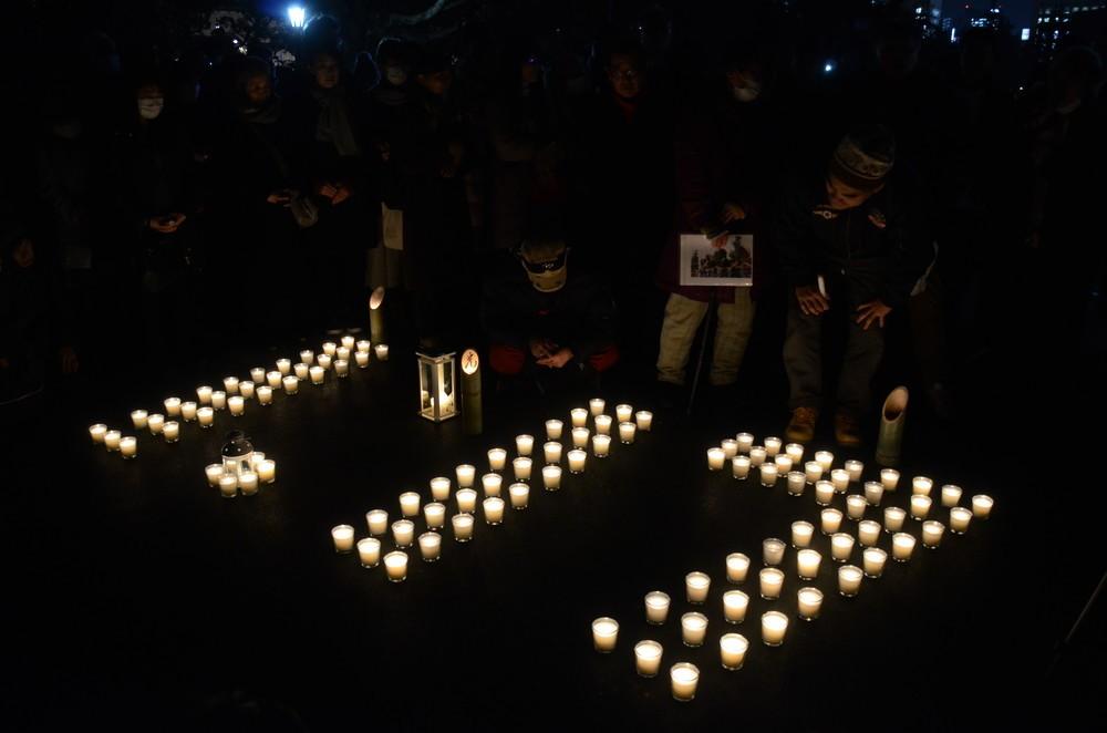 【震災7年 明日への一歩】阪神大震災から24年 東京で初の追悼行事、神戸とネット中継
