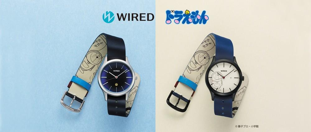 コミック第1話「ドラえもん」デザインの腕時計2モデル