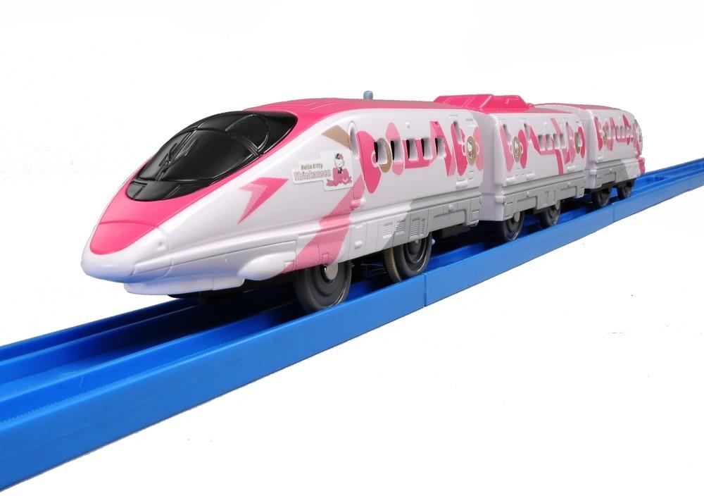 「ハローキティ新幹線」デザイン 3両編成「プラレール」