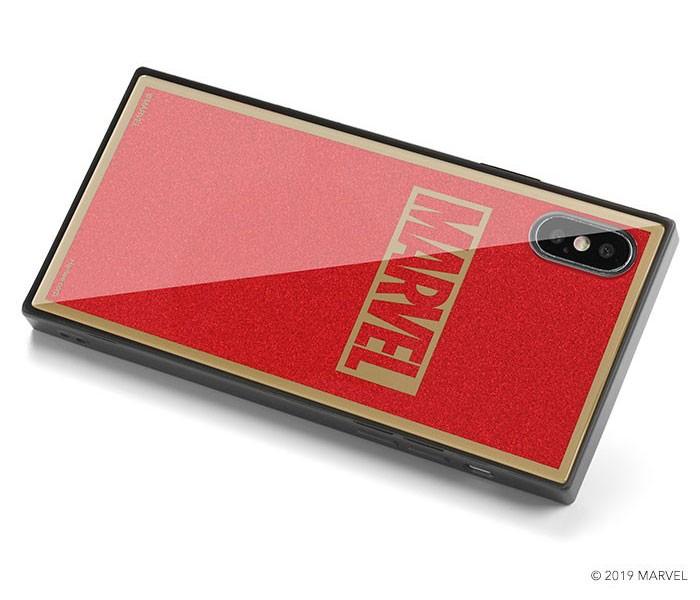 「MARVEL」ロゴをプリント iPhone 「タイルケース」