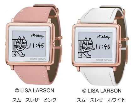 デザイナー「リサ・ラーソン」の代表作「マイキー」モチーフ 腕時計2モデル