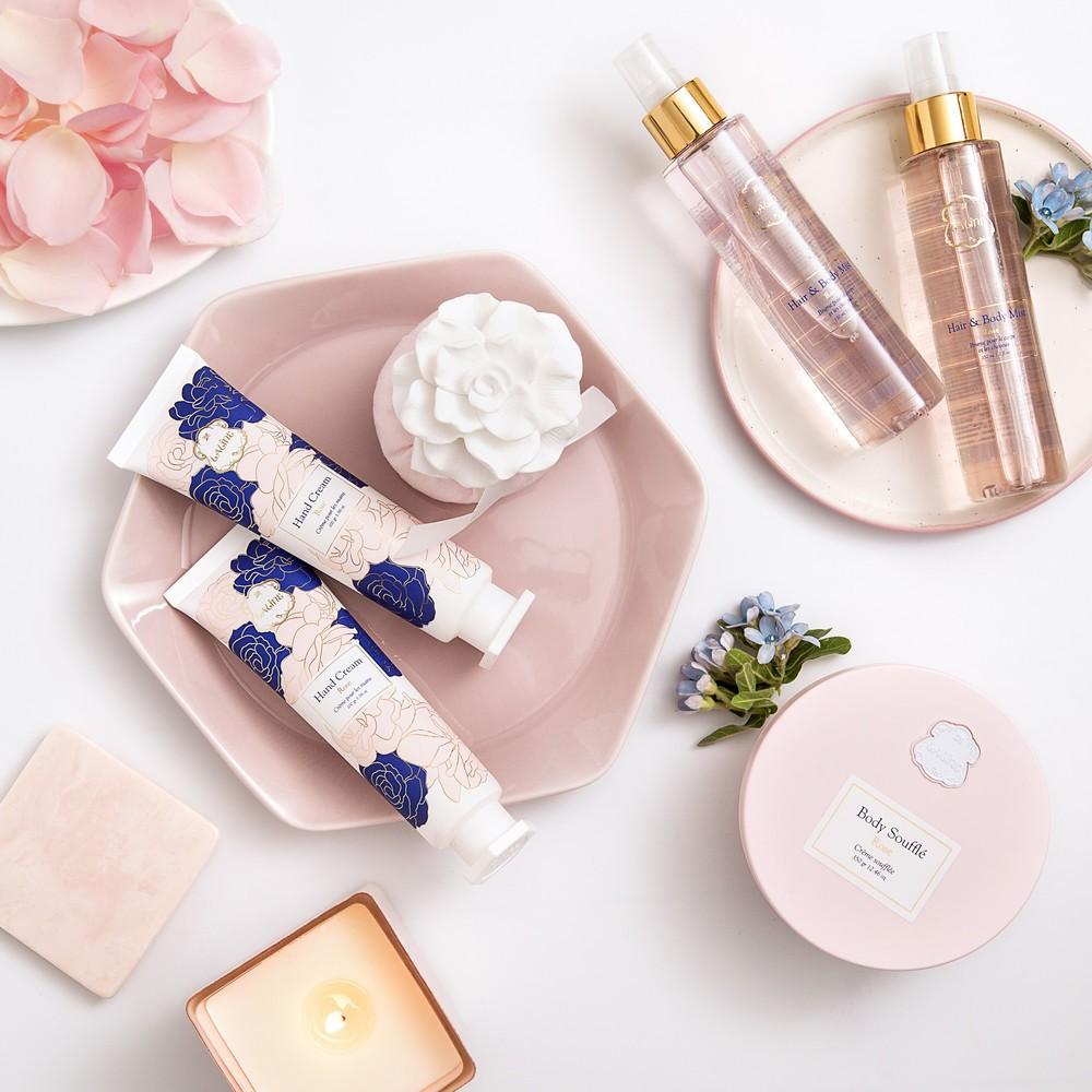 肌も心もうるおう優しいローズの香り 自然派コスメ「Laline」新シリーズ