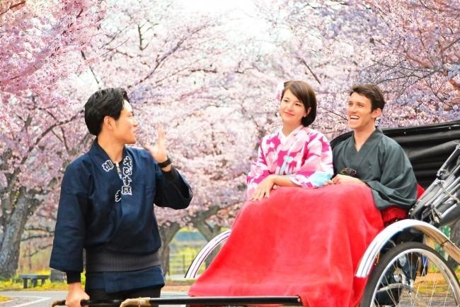 人力車でお花見ツアーも 春を楽しむ3つの宿泊プラン