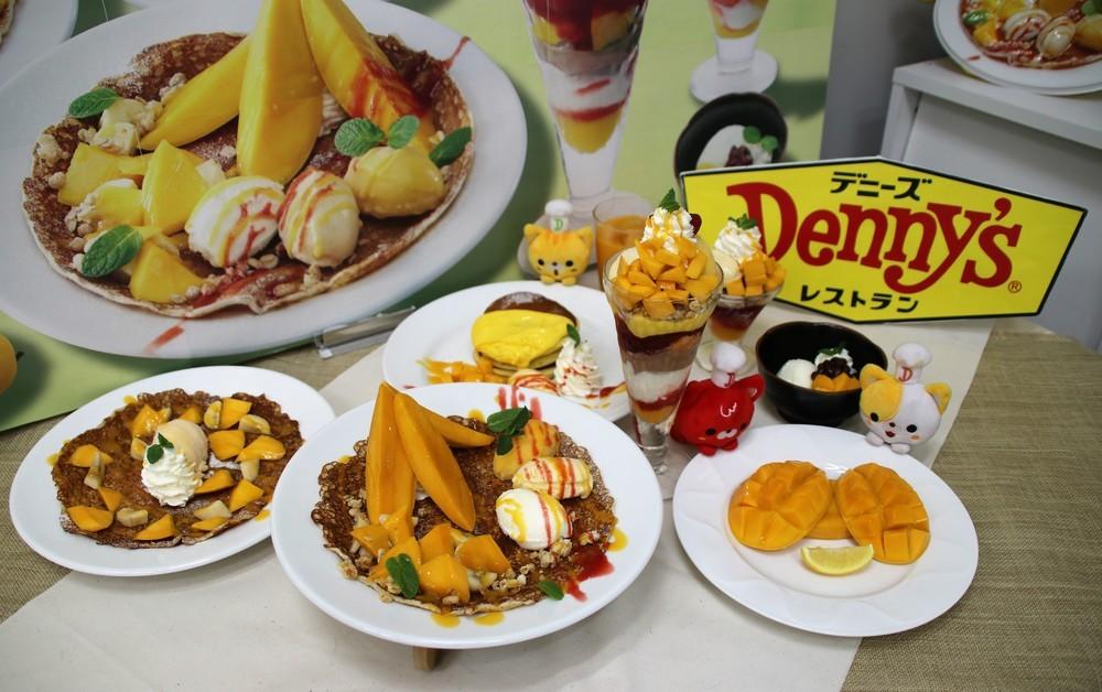 甘みたっぷりフレッシュマンゴー召し上がれ デニーズ「マンゴーデザートフェア」