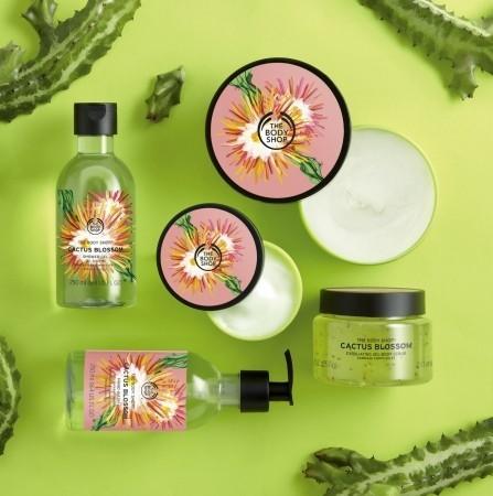 サボテンの花イメージのフレッシュな香り 「バス&ボディケアシリーズ」