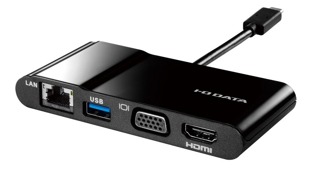 様々な周辺機器接続可のアダプター USB Type-C端子搭載ノートPCに