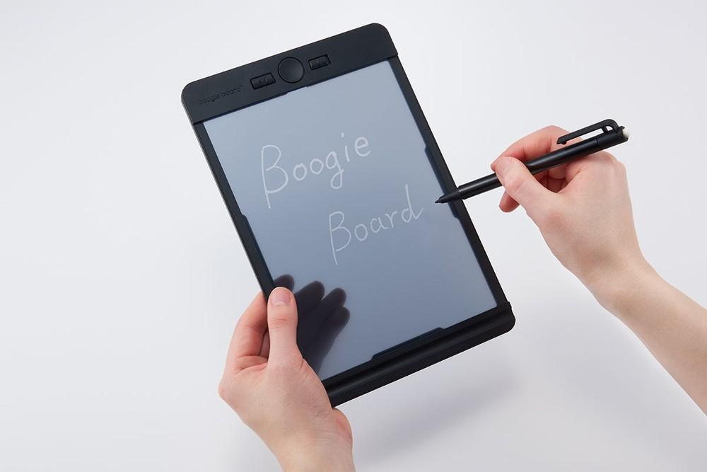 半透明の液晶画面 シートやイラストを下に敷いて書ける電子メモパッド