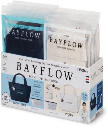「BAYFLOW」ブランドのトートバッグ ローソン限定で
