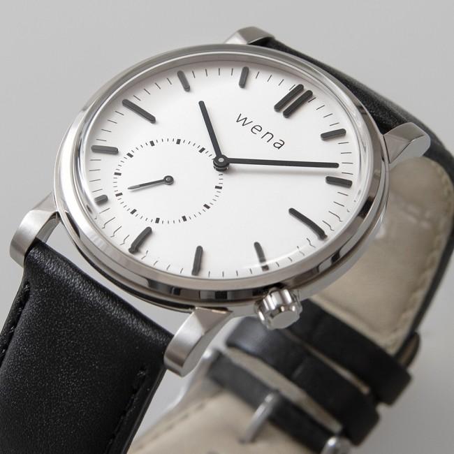 ハイブリッド型スマートウオッチ「wena wrist」新型モデル2機種