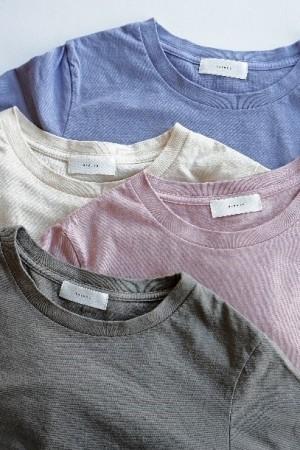 コーヒーの豆かすで染めたTシャツ ファッション業界でフードロス問題に挑む