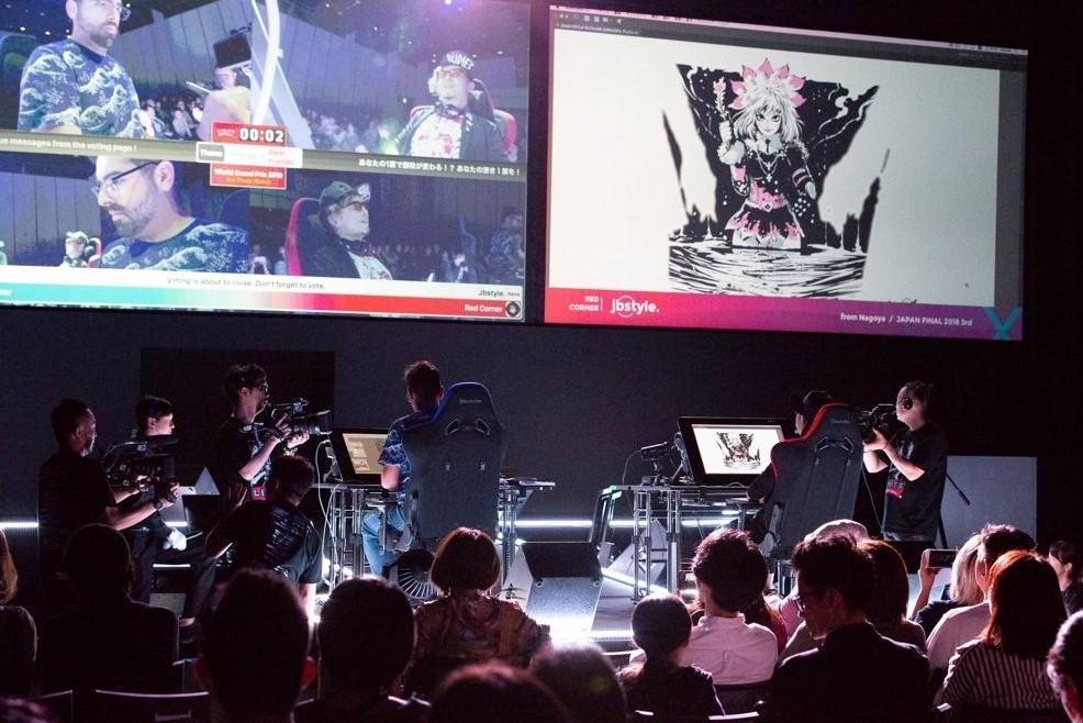 20分でイラストの腕競う 競技型デジタルアートの頂上決戦「リミッツ」世界大会が開催