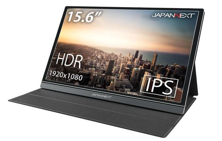 15.6型・薄型軽量モバイルディスプレー USB Type-Cケーブル1本で電源供給も