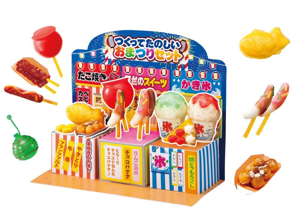 コンセプトは「おまつりの屋台」 熱で固めて「かき氷」「りんごあめ」作れる
