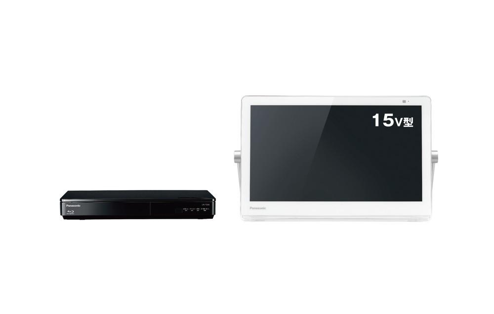 モニターとチューナーが別々 ポータブルテレビ5モデル
